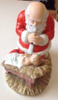 Collectors Kneeling Santa