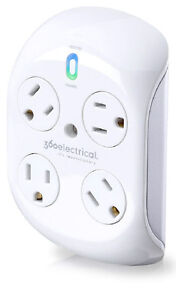360electrical Revolve™ With Surge Protection and 4 Rotating Outl