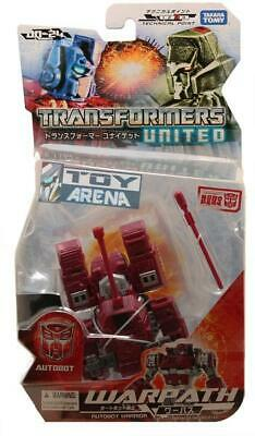 Transformers United UN-24 Warpath Takara Action Figure USA SELLER