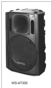 Panasonic--RAMSA--WS-AT300E--MINT