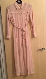 Brand new slit shirt dress