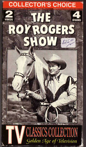 2 VHS The Roy Rogers Show, Colletor's Choice