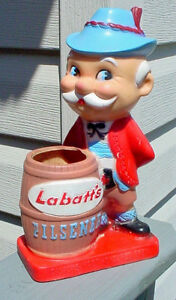 Antique 1940s 50s Labatts Beer Brewery advertising figure London Ontario image 1