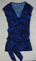 LIKE NEW Thyme Maternity Short-Sleeved Wrap Top (Size XS)