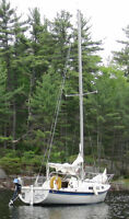 Tanzer 22 Sailboat with Trailer
