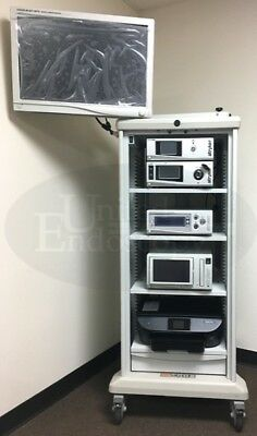 Stryker - 1588 Hd Crossfire 2 Video Arthroscopy Tower System Endoscope Endoscopy