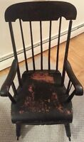 Genuine antique Boston/Salem rocker [circa 1830s]