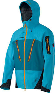 MAMMUT Jacke PARINACO Men Skijacke, Outdoorjacke blau Gr. XL