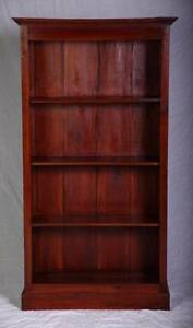 Solid hardwood timber large bookcase,DELIVERY AVAILABLE Oakford Serpentine Area Preview
