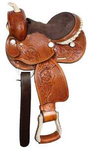 Youth Western Saddle for large mini/small pony