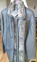 Shearling (real) coat jacket men's - brand NEW