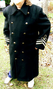 MILITARY COAT, full length, collectable Windsor Region Ontario image 2