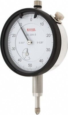 22-304-0 Spi Deluxe Dial Indicator 0.250 Range 0.001 Graduation Agd Group 2