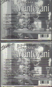 The Mantovani Orchestra - Classic Mantovani - 2 CD Set West Island Greater Montréal image 3