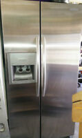 Kitchenaid 25.3 cu. ft. Stainless steel, water, ice and purifier