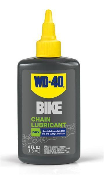 WD-40 Bike Chain Lubricant Dry Lube 4 oz Drip Bicycle