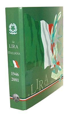 LIRA ECO ALBUM PER LA RACCOLTA DELLE MONETE DELLA LIRA ITALIANE DAL 1946 AL 2001