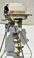 SEIZED - JOHNSON 10 hp. OUTBOARD MOTOR model QD21