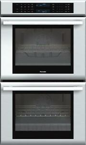 Four double 30 po, convection, 9.4 pi3, stainless, Thermador