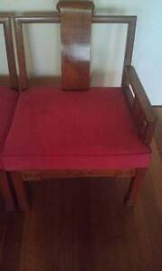 Rosewood chair set South Perth South Perth Area Preview