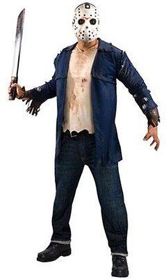 Friday the 13th Jason  Costume Deluxe Size X-Large (Jason Costume)