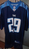 Tennessee Titans NFL Reebok Jersey #29 Chris Brown