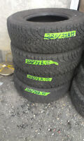 4 GoodyearTires  225  75  R15  70% tread