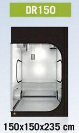 Recon Secret Jardin Dark Room DR150 Grow Tent Hydroponics 150x150x235cm