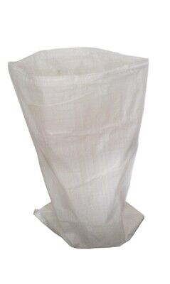 20 XL Woven Polypropylene PP Rubble Sacks Heavy Duty Size 71x142cm Clothes Sacks