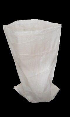 10 XL Woven Polypropylene PP Rubble Sacks Heavy Duty Size 71x142cm Cargo Bag