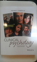 Introduction to Clinical Psychology 3rd Canadian Edition
