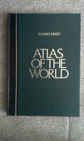 Atlas of the World and Readers Digest encyclopedia
