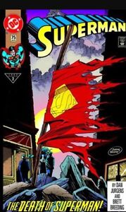 Trading the death of superman