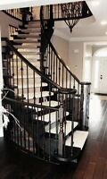 FLOORS - STAIRS - CABINETS°REFINISHING & INSTALLATIONS