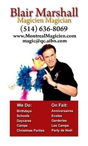 Blair Marshall - Magicien Magician Montreal 514-636-8069 West Island Greater Montréal image 2