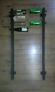 10 or 12 bottle handmade wallmounted wine rack Kitchener / Waterloo Kitchener Area image 9