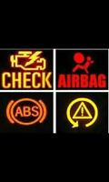 Engine Light--ABS-Air bag-SRS-Transmission