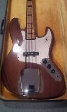 1974 GRECO (IBANEZ - VINTAGE) JAZZ BASS WALNUT BROWN Newcastle 2300 Newcastle Area Preview