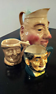 COLLECTIBLE CHARACTER PITCHERS