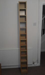 Tall CD Rack - Free Delivery
