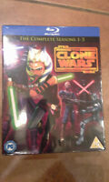 STAR WARS : CLONE WAR SEASONS 1-5 (BLURAY)
