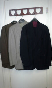 Mens Suits - Size 44 Tall Pants 38