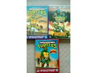 3 TURTLES DVDS....ONE IS TWIN DISCS