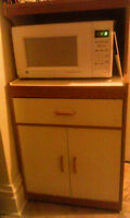 Microwave and Stand - $80 - Pick up only
