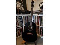 Epiphone acoustic guitar black