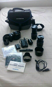 Olympus E-510 kit with two lenses 14-42mm and 40-150mm Scarborough Stirling Area Preview