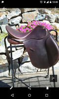 "17.5"" AP Collegiate Saddle Excellent Condition"