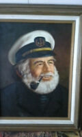 Captain painting