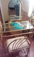 Gold Metal Vanity Need Gone ASAP