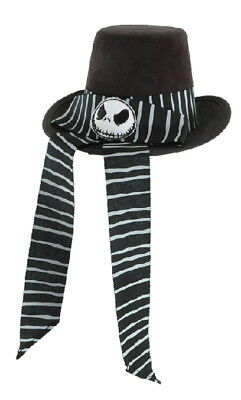 Nightmare Before Christmas Top Hat (The Nightmare Before Christmas Little Victorian Jack Top Hat Mini, NEW)
